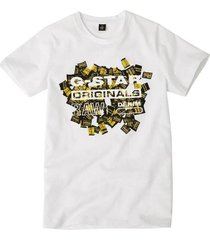 g-star wit t-shirt sp10056