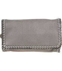 stella mccartney clutch falabella shaggy deer