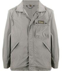 belstaff weekender water-repellent jacket - grey