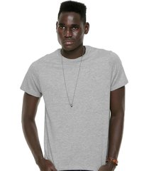 camiseta hering lisa cinza - cinza - masculino - algodã£o - dafiti