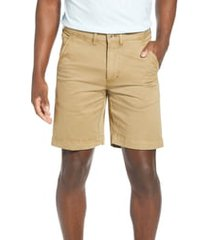 men's vintage 1946 'sunny' stretch chino shorts, size 32 - beige
