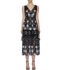 """""""starlet deco' sequin embellished dress"""