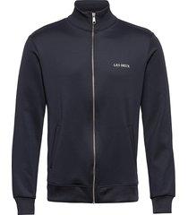 ballier track jacket sweat-shirt trui blauw les deux