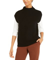 alfani sleeveless mock-neck sweater, created for macy's