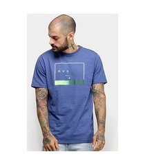 camiseta hurley silk off the press masculina