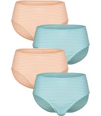 tailleslips blue moon turquoise::wit::apricot
