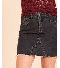 falda denim corta