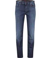 alberto 5-pocket broek donkerblauw denim