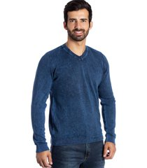 suéter basic le tisserand stoned azul - kanui