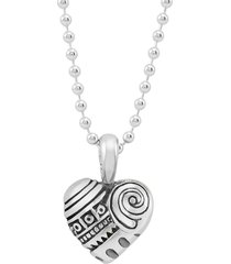women's lagos 'hearts of lagos - philadelphia' long pendant necklace