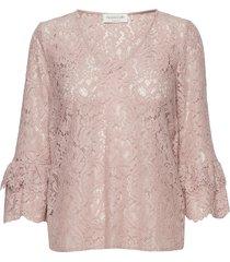 blouse 3/4 s blouse lange mouwen roze rosemunde