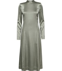 rodebjer acela silk maxi dress galajurk groen rodebjer