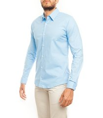 camisa frank pierce mar c2018 - azul