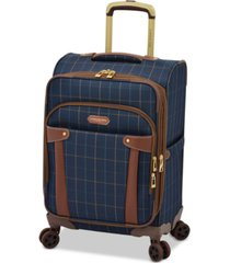 "london fog brentwood 20"" softside carry-on luggage, created for macy's"