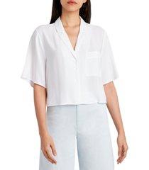 bcbgeneration cropped wide-sleeve shirt