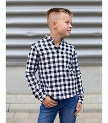 koszula chłopięca kratka