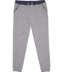 hugo boss dark blue heritage track pants