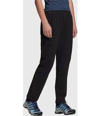 pantalón de buzo adidas performance terrex liteflex pants negro - calce regular