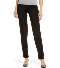 miraclesuit(r) work leggings, size small in deep black at nordstrom
