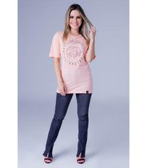 camiseta equivoco oversized isabela feminina