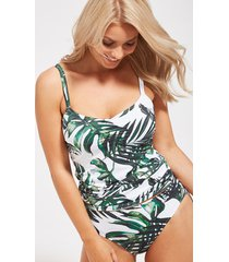 palm valley underwire adjustable tankini top