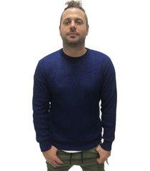 sweater azul desigual
