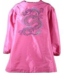 """dragon"" techno dress"