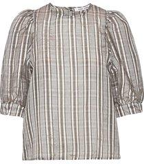 celestine blouse 12773 blouses short-sleeved goud samsøe samsøe
