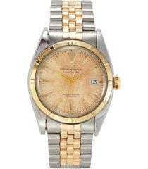 rolex big bubbleback datejust stainless steel watch