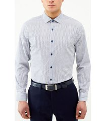camisa formal estampada hojas perry ellis