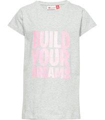 lwt 100 - t-shirt s/s t-shirts short-sleeved grå lego wear