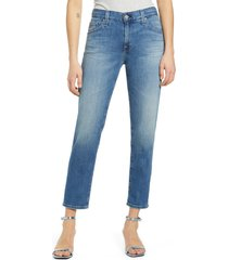 women's ag the ex-boyfriend slim jeans, size 32 - blue