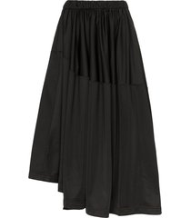 y-3 firebird track skirt - black