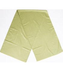 loro piana cashmere silk scarf green sz: