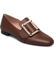 janelle loafers låga skor brun bally