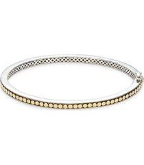 effy women's two-tone bangle bracelet