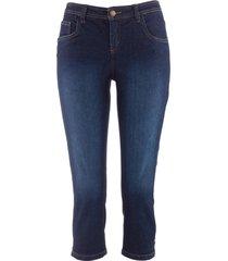 jeans capri elasticizzati comfort (blu) - john baner jeanswear