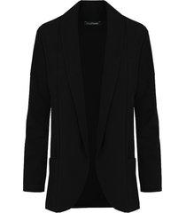 basic blazer zwart