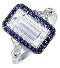 women's lafonn art deco simulated diamond ring