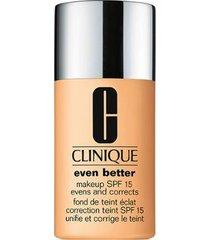 base clinique - even better makeup broad spectrum spf 15 68 brulee