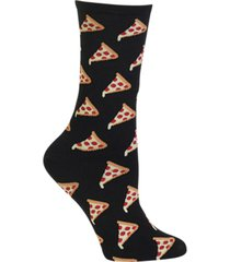 hot sox women's pizza fashion crew socks