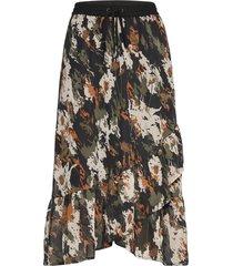 kadane skirt knälång kjol multi/mönstrad kaffe