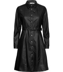 nubelen dress knälång klänning svart nümph