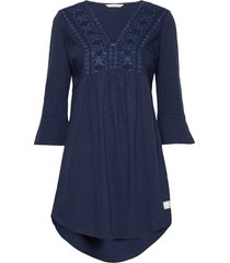 curious dress kort klänning blå odd molly
