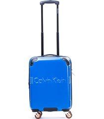maleta delancy azul 20 calvin klein