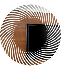 espelho love decor decorativo circulo abstrato único