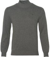 hensen pullover - extra lang - grijs