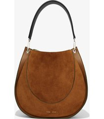proenza schouler large arch shoulder bag chocolate/brown one size