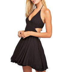 women's endless summer by free people lillie halter minidress