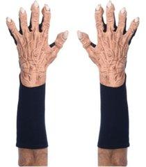 buyseasons adult short flesh monster gloves